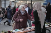 Aktion Gestatten Muslim - Generalsekretariat - Koln 28.02.2015 (2)
