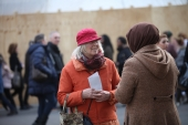Aktion Gestatten Muslim - Generalsekretariat - Koln 28.02.2015 (8)