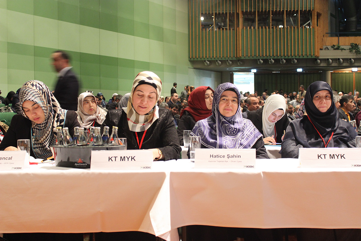 7 Delegiertenversammlung  7 Olagan Kongre  Vorsitzender  Genel Baskan  Hagen 04.05.2014 (16)