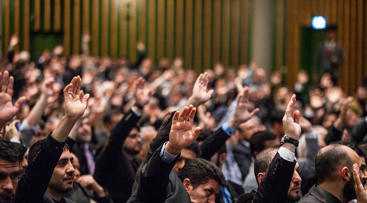 7 Delegiertenversammlung 7 Olagan Kongre Vorsitzender Genel Baskan Hagen 04.05.2014 (8)