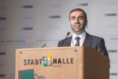 7 Delegiertenversammlung  7 Olagan Kongre  Vorsitzender  Genel Baskan  Hagen 04.05.2014 (2)