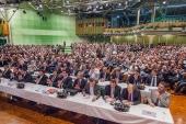 7 Delegiertenversammlung  7 Olagan Kongre  Vorsitzender  Genel Baskan  Hagen 04.05.2014 (3)