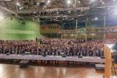 7 Delegiertenversammlung  7 Olagan Kongre  Vorsitzender  Genel Baskan  Hagen 04.05.2014 (4)