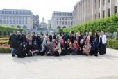 Studienreise Learning by Discovering - Frauenjugendorganisation - Brussel 04.06.2014  (2)