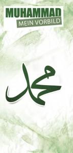 Muhammad. Faltblatt