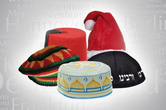 Takke, Kippa, Weihnachtsmann, Fes, Mütze, Religion